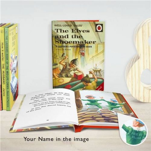 Personalised The Elves and the Shoemaker: A Ladybird Book